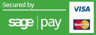 Secure Payment Processed by Sagepay